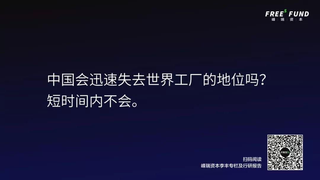 峰瑞资本李丰:一张图看清2020中国机会