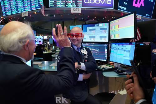 英媒:2019全球股市创十年最佳纪录