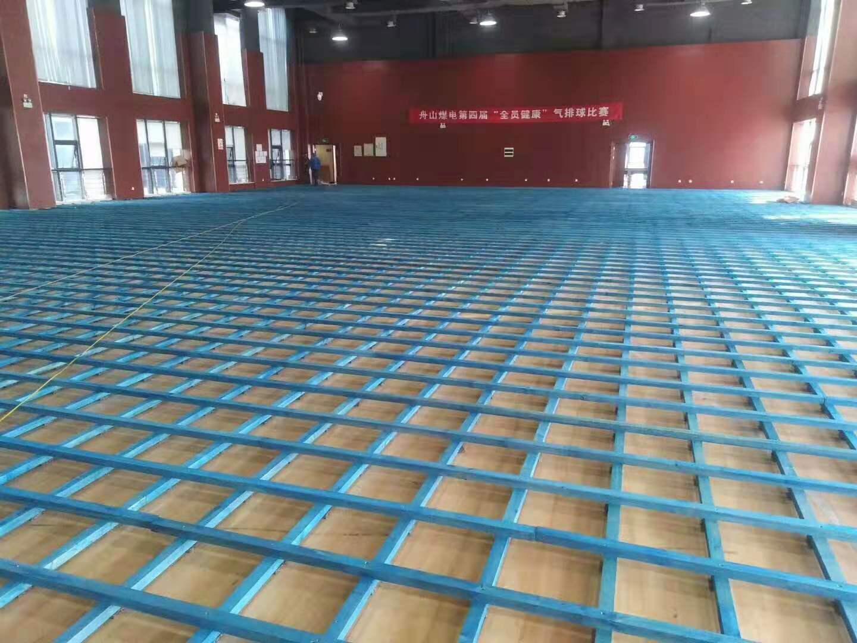 室内篮球场木地板寿命