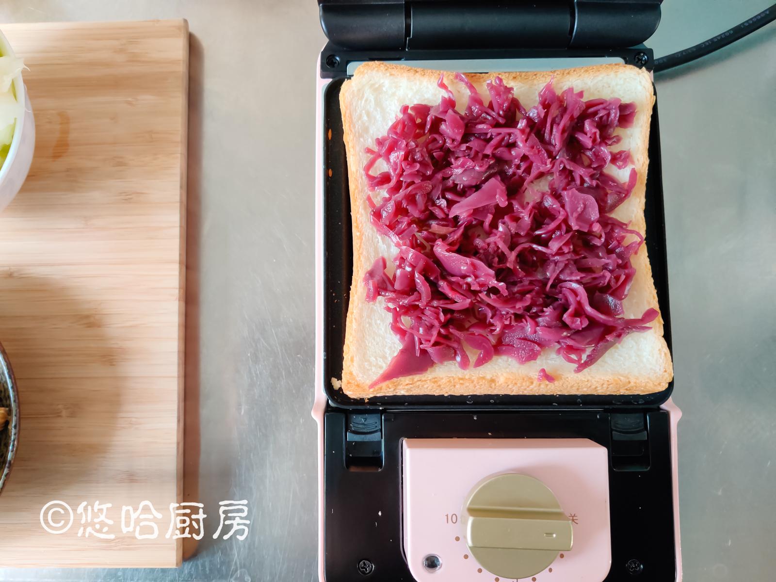 用它做三明治,比肉夹馍酥脆松软,一口气吃2个,真香