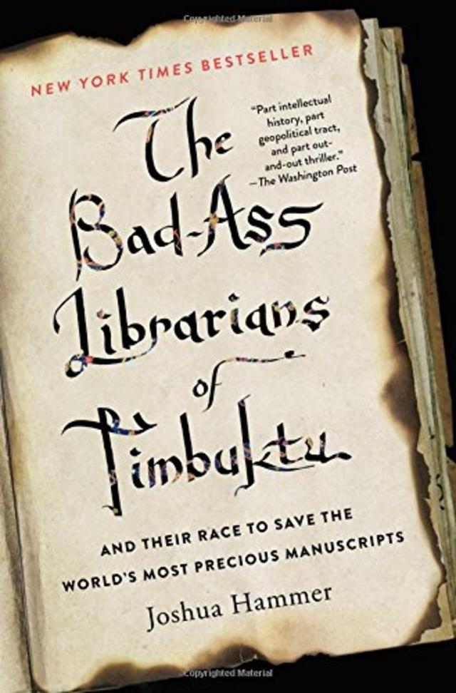 恐怖分子统治之下,图书馆员如何涉险营救珍贵古籍?