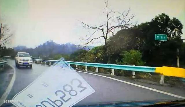只听导航不看路 贵州一司机高速上逆行