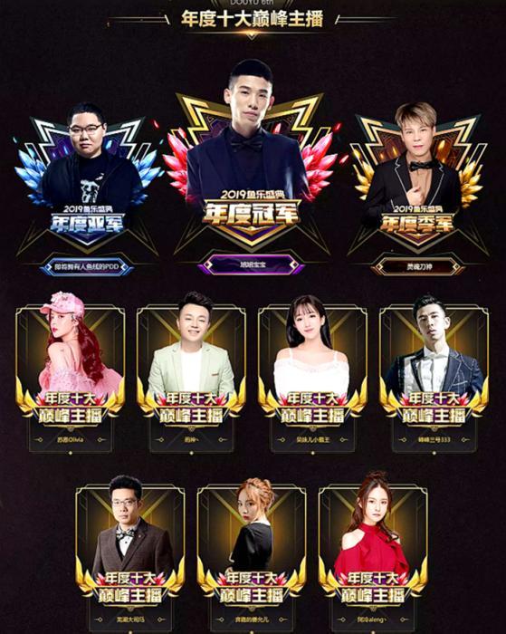 """<b>""""斗鱼2019鱼乐盛典""""将于1月11日在上海举行</b>"""