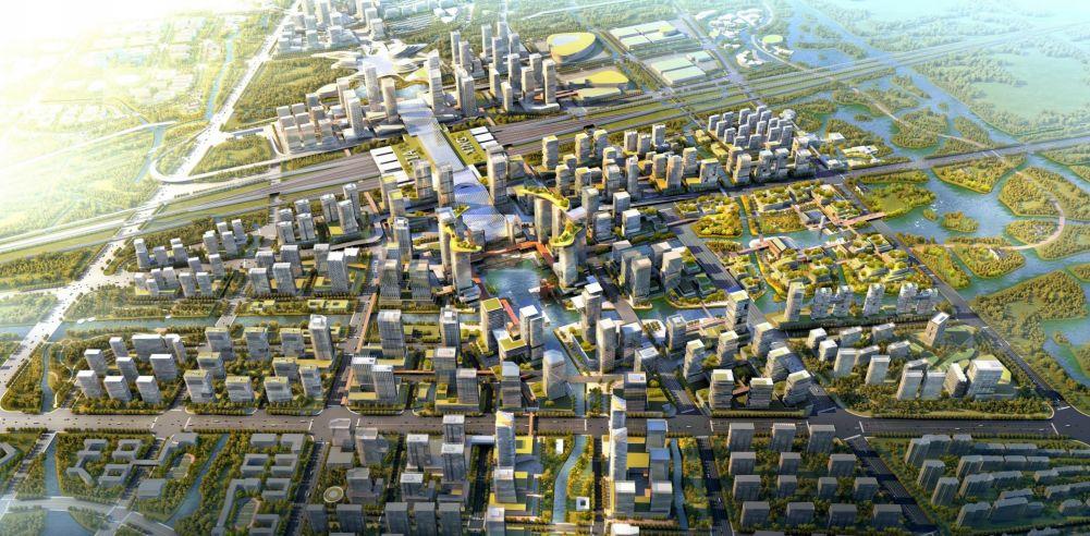 高铁新城规划震撼亮相