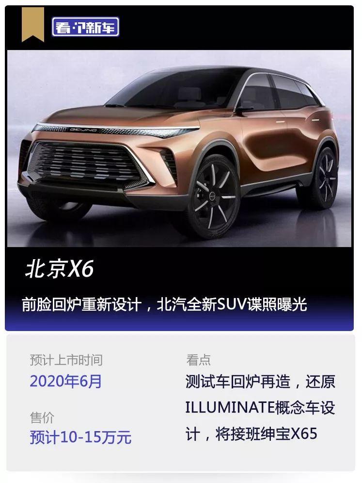 原来看新车,正面重新设计,北汽新SUV间谍照片曝光