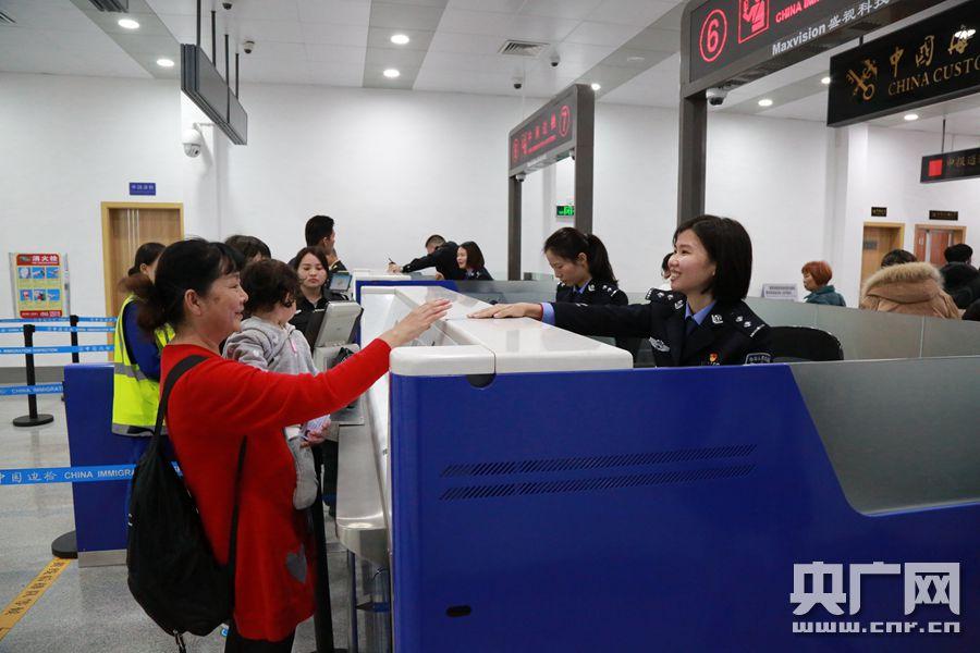 2019年湛江机场口岸出入境旅客数