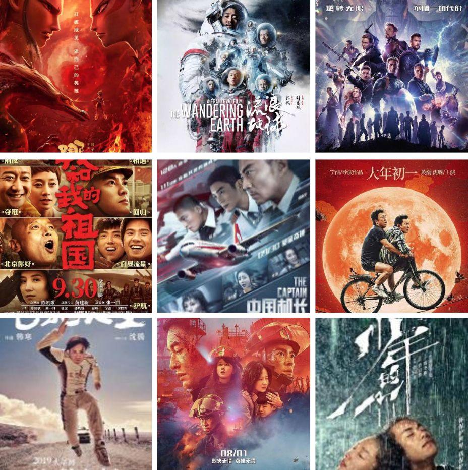 2019内地电影票房排行_2019年电影票房排行榜 你看过几部