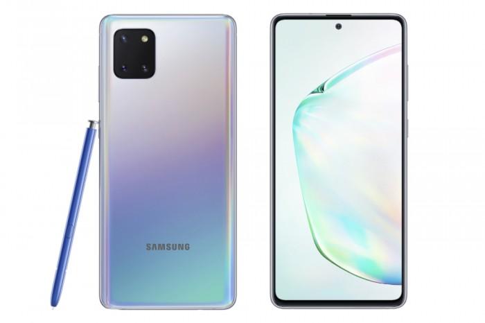 三星正式发布GalaxyS10Lite和Note10Lite智能手机