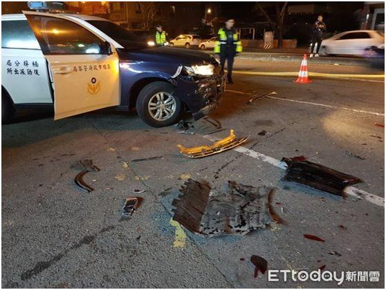 午夜枪响!男子驾车撞警察,警察连开22枪没拦住