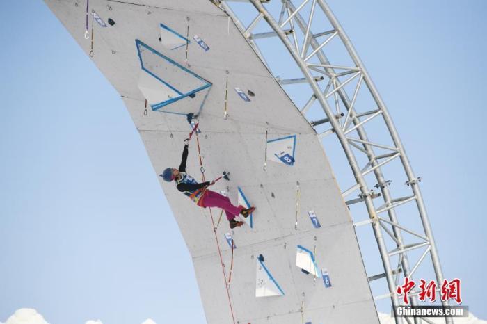 挑战地心引力?国际登联攀冰世界杯长春开赛