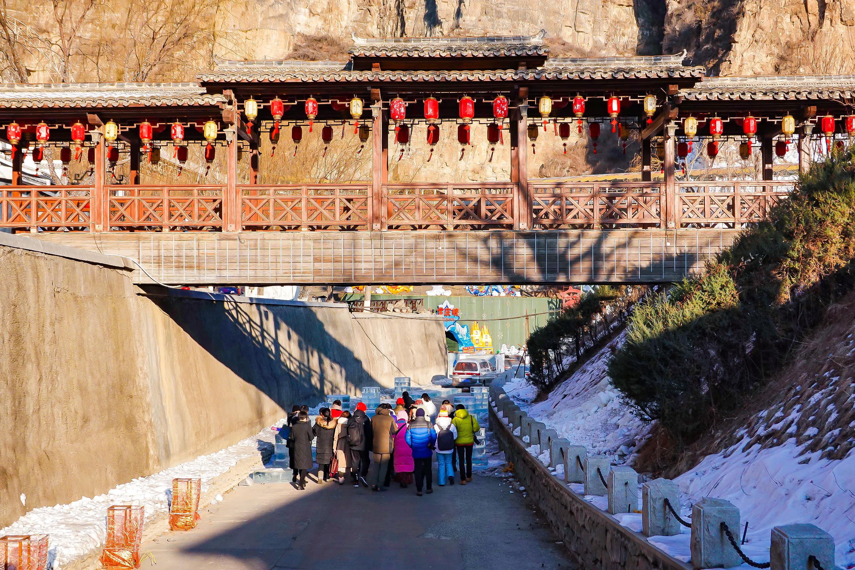 不到10天!北京最火的冰灯节要来了!上万块冰雕组成奇幻冰雪世界