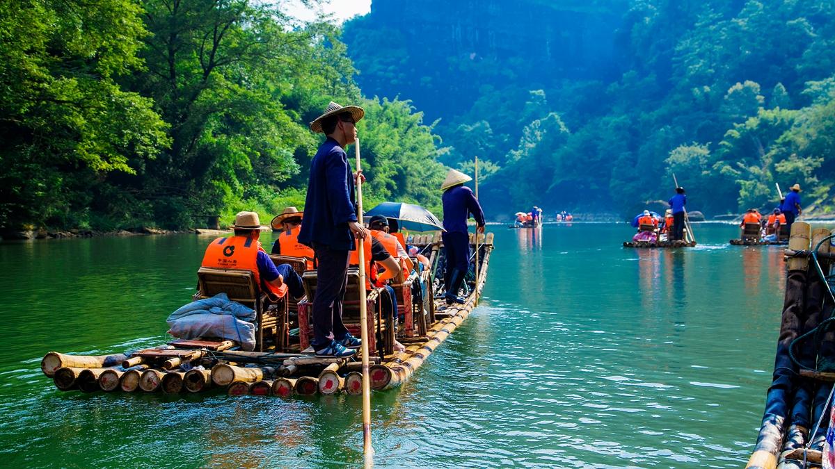 中国最美的后花园,江西与福建交界的三教名山,仿佛置身仙境