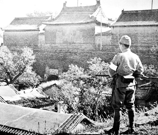 面对数倍于自己的日本师团 485团孤守德州三昼夜 最终壮烈殉国