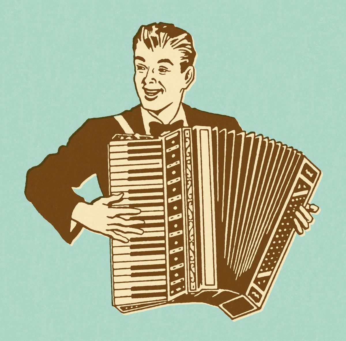 手风琴左手指法图