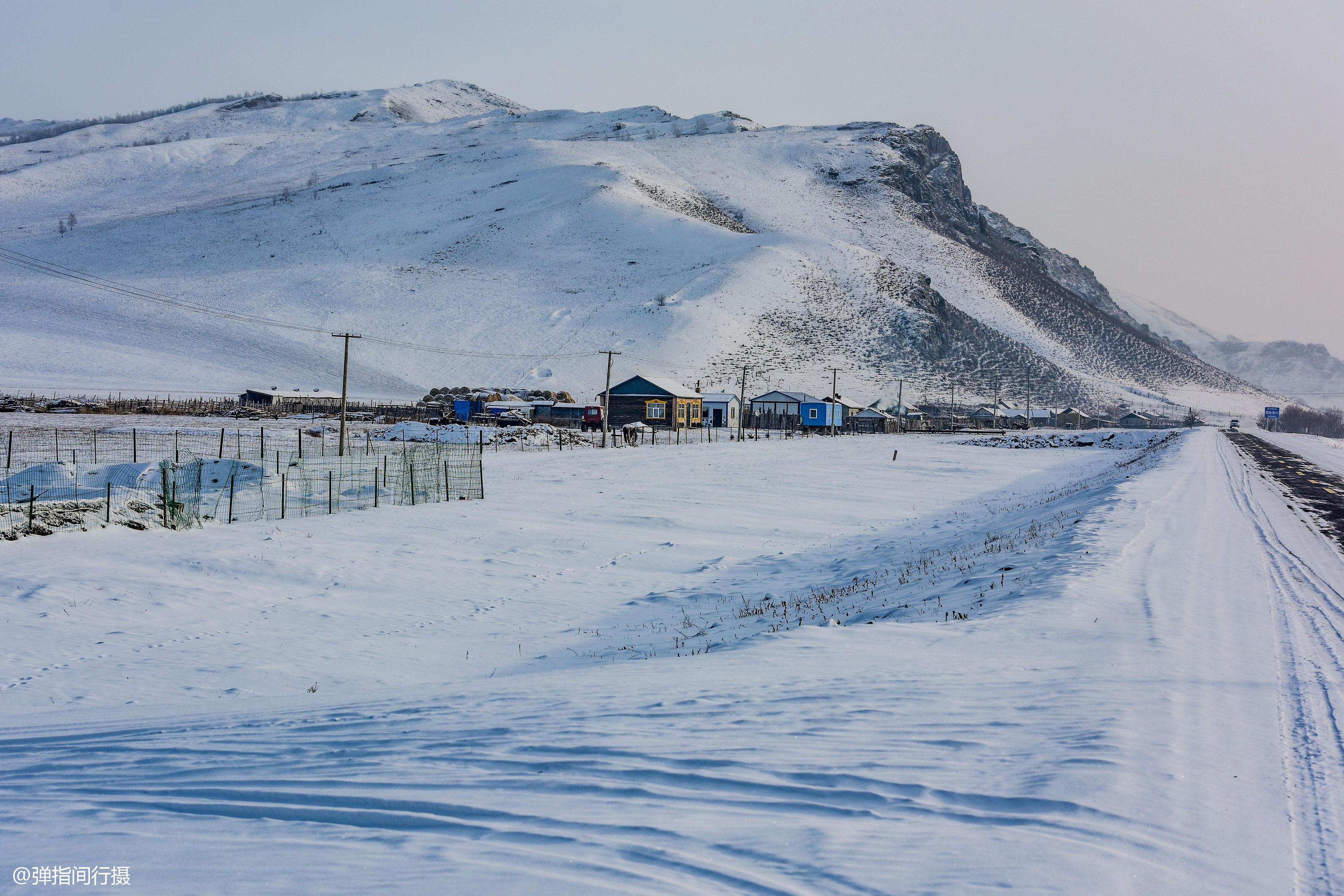 """零下30度的呼伦贝尔,美如""""冰雪仙境"""",是被""""低估""""的冬游胜地"""