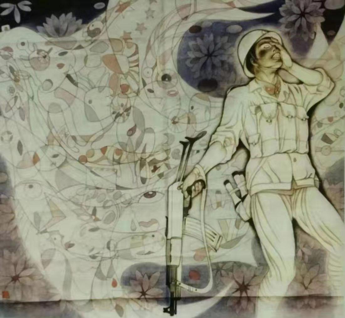 作品: 六骏神韵>2013年参加 中国梦>全国书画邀请展,中央国家机关(国