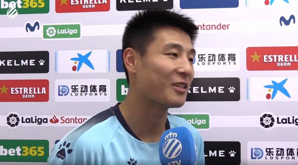 武磊:攻破巴萨球门很开心 和巴尔加斯早有交流