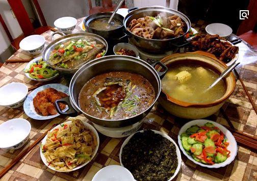 心理测试:你认为哪桌年夜饭最丰盛?测你是个有福气的人吗