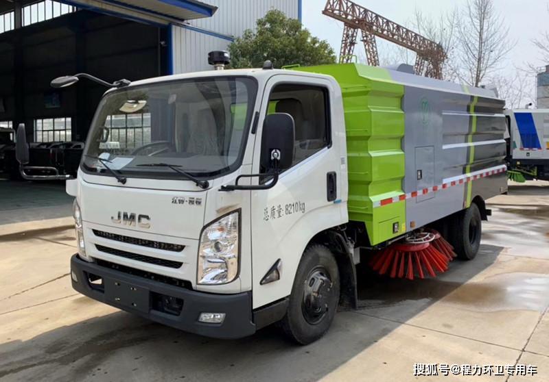 刘国江铃凯瑞N800清扫车——扫路车系列
