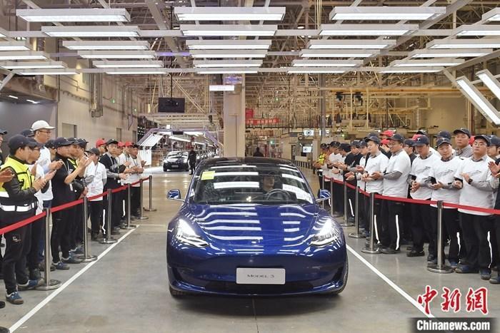 特斯拉:首批中国制造Model3将于1月7日交付社会车主