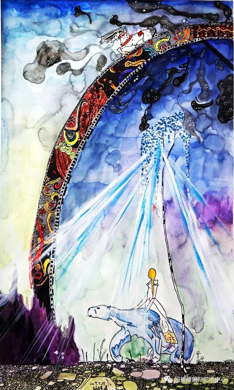 媛 艺术 3岁学画,12岁办展,又一个了不起的苏州小娘鱼