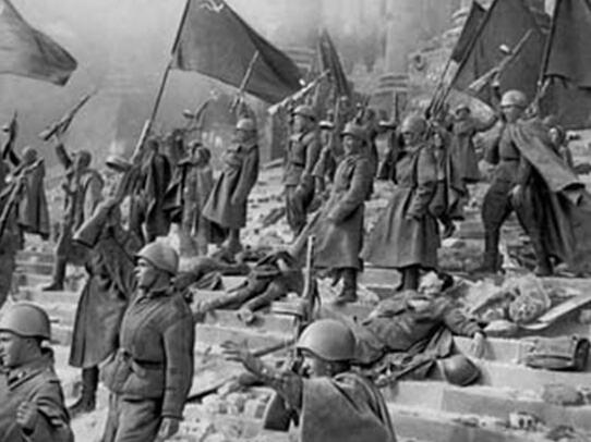 苏联红军攻克柏林图片