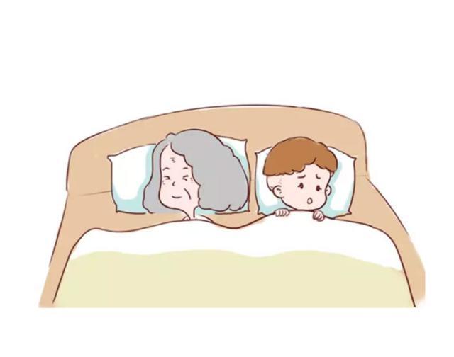 最好別讓孩子跟老人一起睡,這可不是迷信,是有科學依據的!