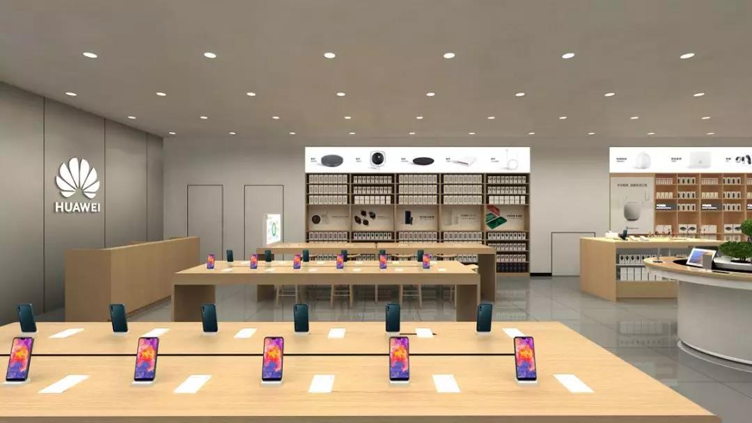 上海安百里世纪购物中心华为体验店已开始试营业!现场感受华为品牌的无限创意!