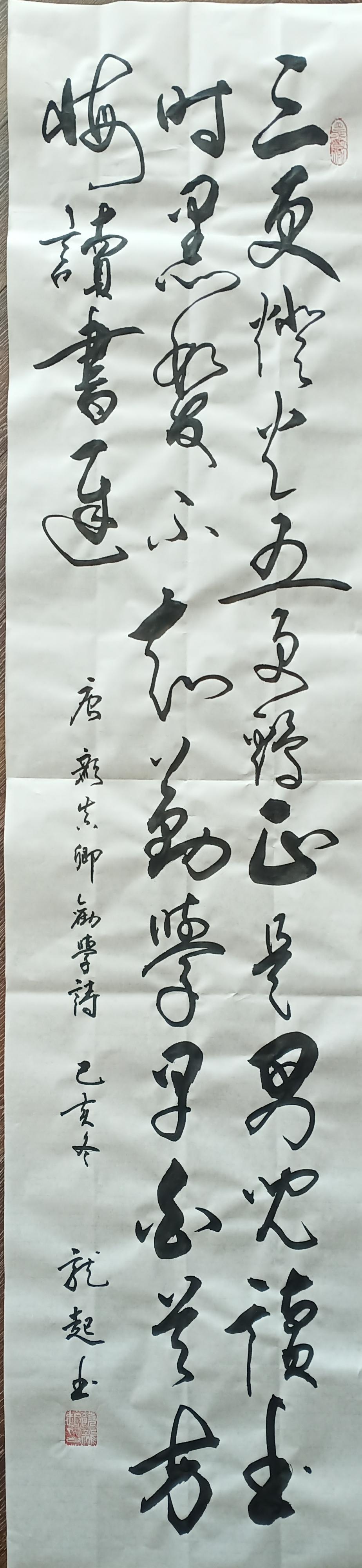 中国书法家协会会员饶龙起书法鉴赏