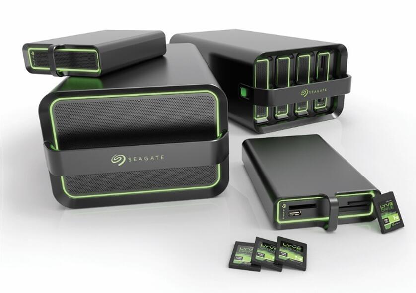 CES2020 :希捷LyveDrive数据移动系统
