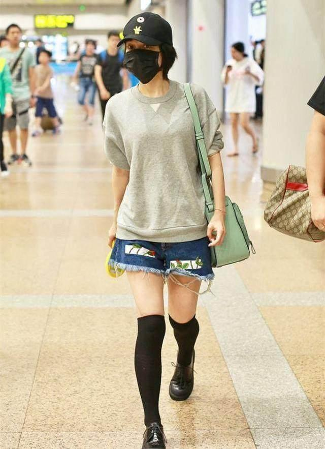 36岁吴昕瘦出新高度!穿露脐装秀水蛇腰,肌肉腿变小鸟腿太惊艳