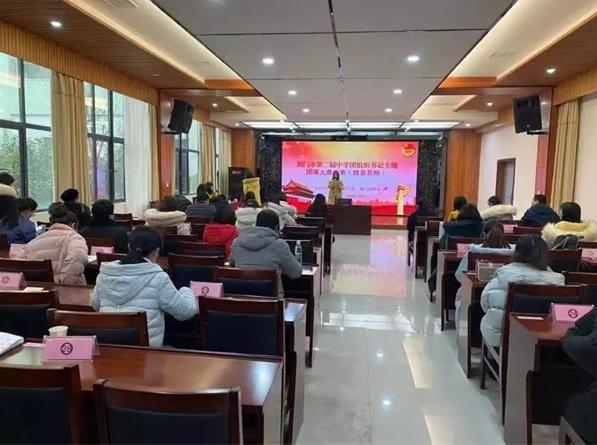 湖北荆门市望兵石学校团组织书记主题团课大赛捷报