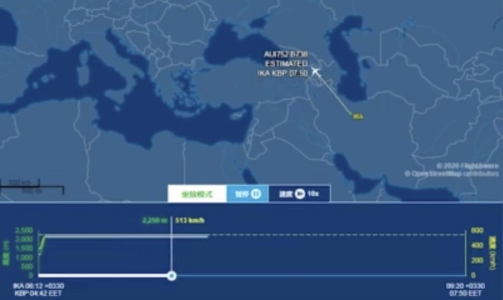 飞机已成碎片,现场满是火星!伊朗失事客机无人生还