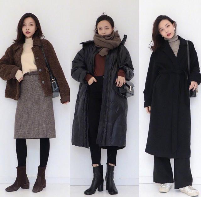 简约时尚的轻熟风穿搭,保暖又好看,轻轻松松提升女人气质!