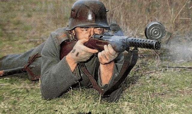 世界上第一款靠谱的冲锋枪德国MP18,我国曾走私不少用于抗日战争_德国新闻_德国中文网