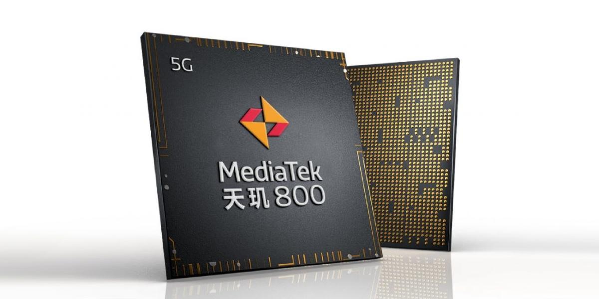 联发科发布天机800系列5G芯片,性能不输骁龙765G?
