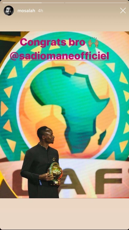 萨拉赫不去非足联颁奖礼,他和马内真的有矛盾?
