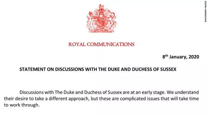 """<b>哈里王子夫妇宣布从王室""""独立"""",惊呆整个英国!</b>"""