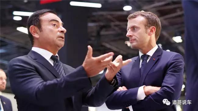 戈恩:日产-雷诺之争源起法国总统马克龙_法国政府