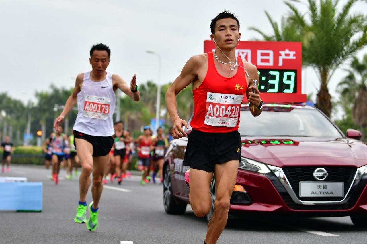 第七代天籁领跑全球马拉松2020开年第一赛!