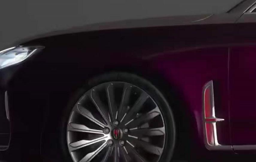 """中国品牌唯一""""V6+纵置后驱"""",红旗H9""""打卡""""2020"""