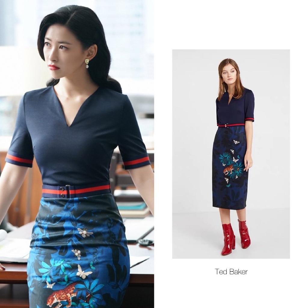 朱珠为塑造《精英律师》角色造型,换了60条裙子,太用心了