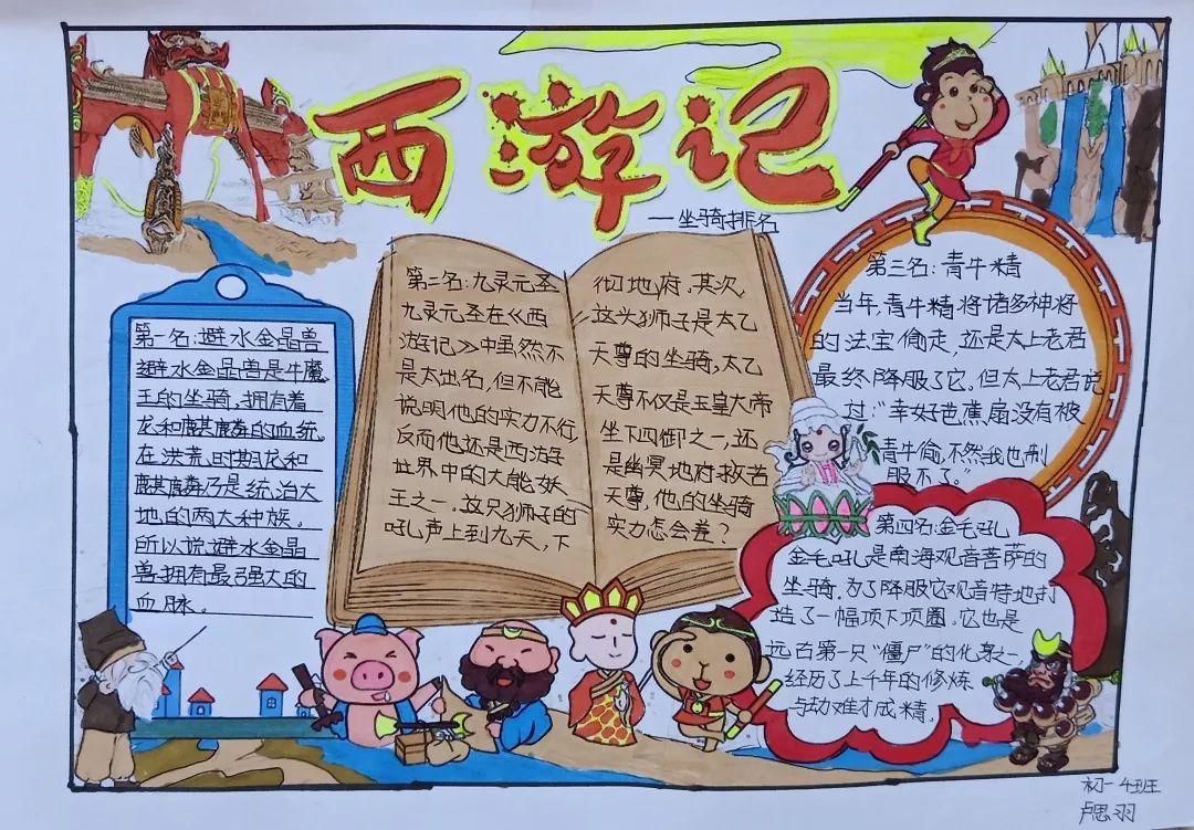 小学生西游记手抄报图片 - 星星报