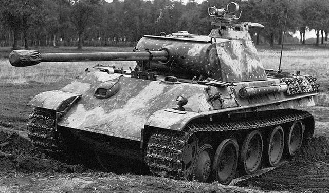 不要以为二战德国只有虎式坦克,豹式坦克同样不可小觑_德国新闻_德国中文网
