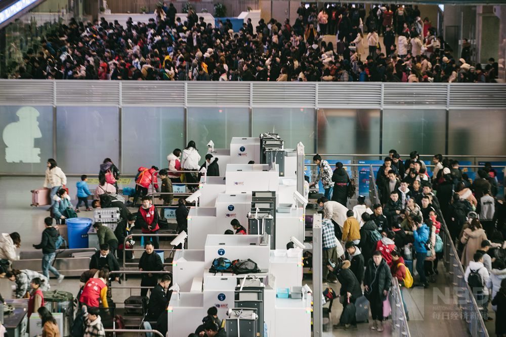 7年中最早开始的一次春运,成都车站发送旅客1151.5万人次