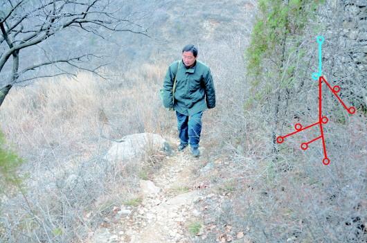 青州步班邮路投递员孙吉刚坚守山区14年 17万公里,他用脚蹚出一条邮路