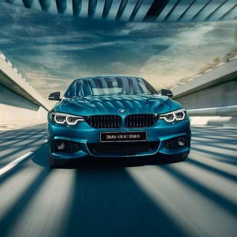 跃然心动BMW 4系双门轿跑车2019款