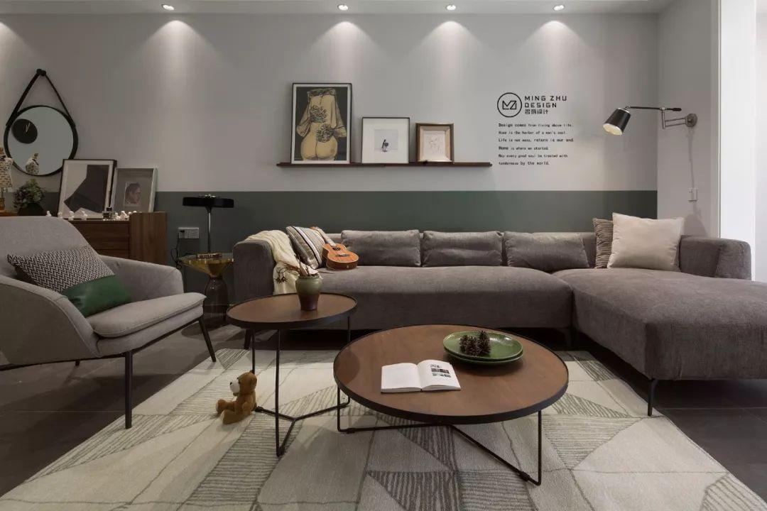 126m2小资情调四居室,隔绝都市的纷繁浮躁,享受生活的平静安逸