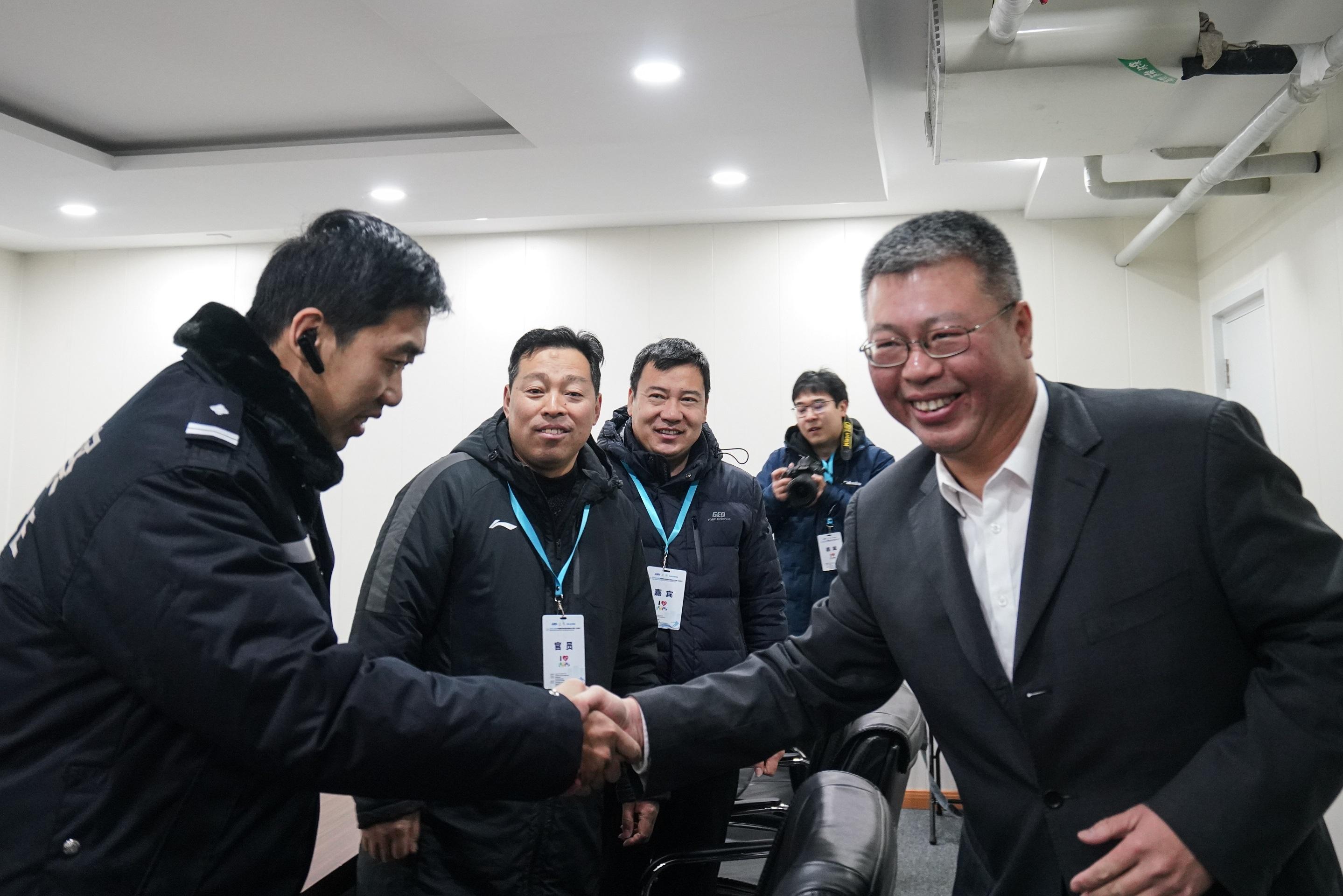 俱乐部滑冰地下赛北京站(第三站)正式揭幕