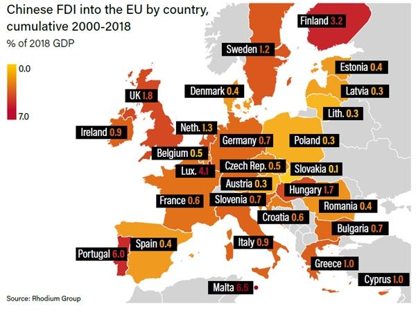 欧盟 gdp_为什么欧盟GDP总量无法超过美国,还损失了3000多亿美元
